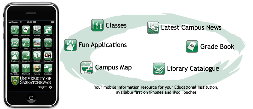 Mobilversity mobile app for higher education
