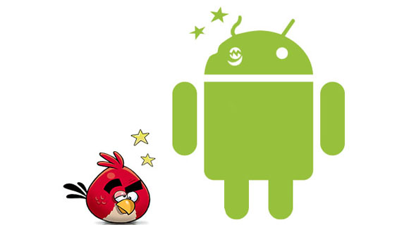 Android and Angry Birds