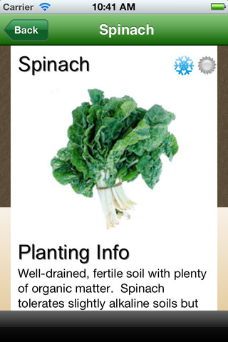 Vegetable Planting Calendar App