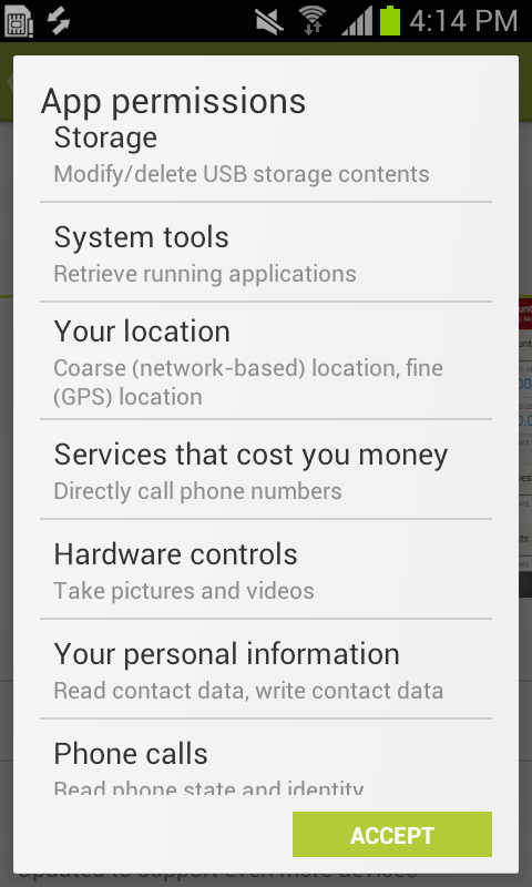 Understanding App Permissions