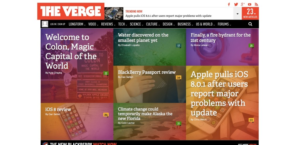 Mobile News - The Verge