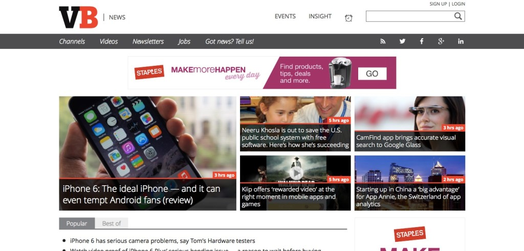 Mobile News - VentureBeat