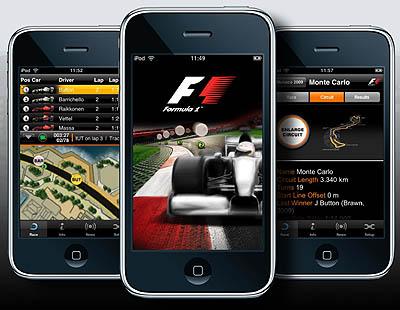 Formula 1 app - Sports app review