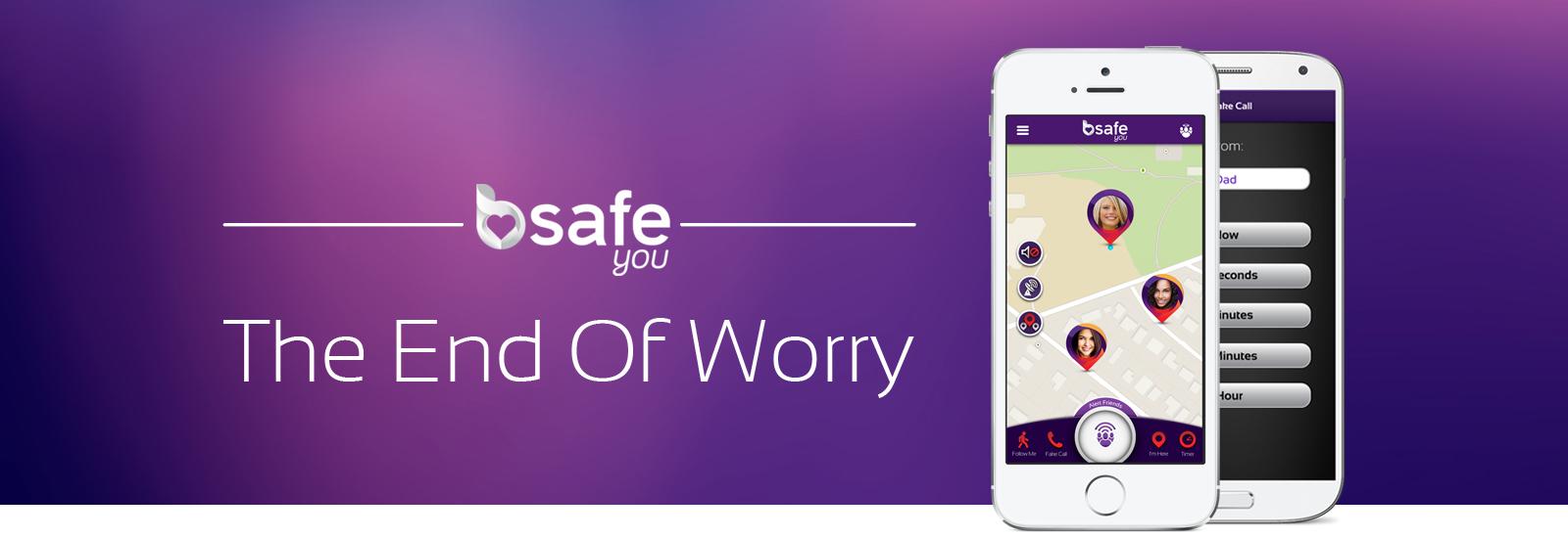 Safety App Review - bsafe app screenshot