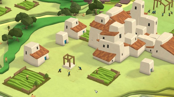 Godus app screenshot