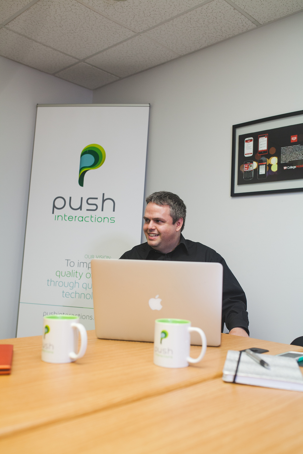 Meet Our Team - Chad Jones -Push Interactions Founder and CEO