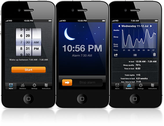 Sleep Cycle App Review - Screenshots for iPhone