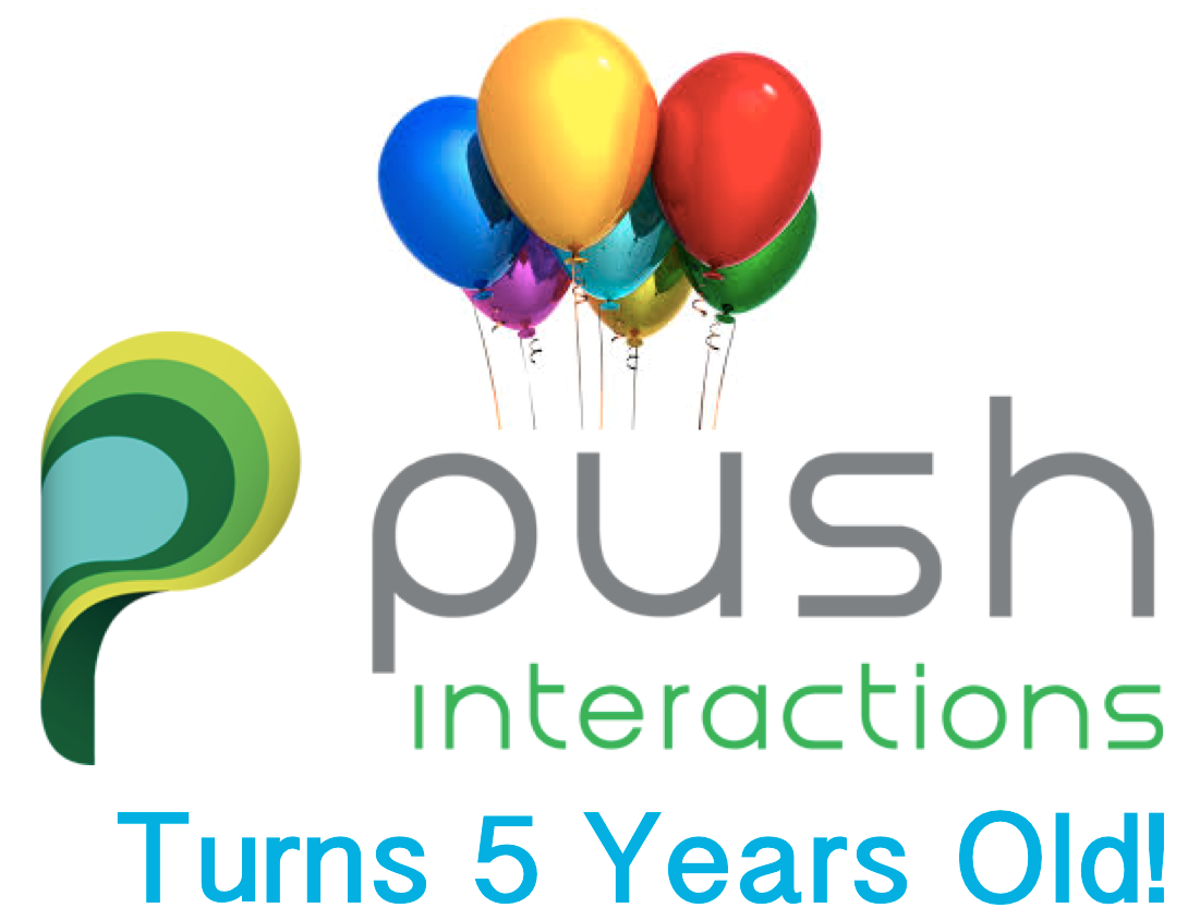 Push Interactions 5th Anniversary