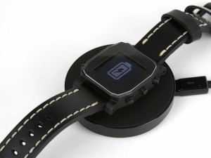 smartwatch battery charging