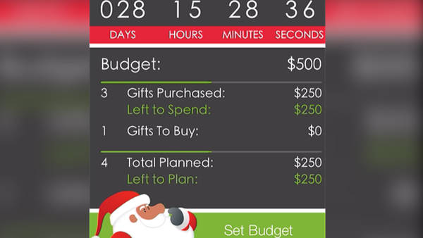 Apps to Help You Get Ready for the Holidays - Santa's Bag App Screenshot