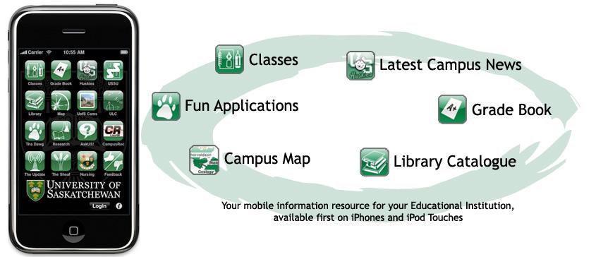 Mobilversity mobile app for higher education