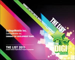 CollegeMobile - The List 2011
