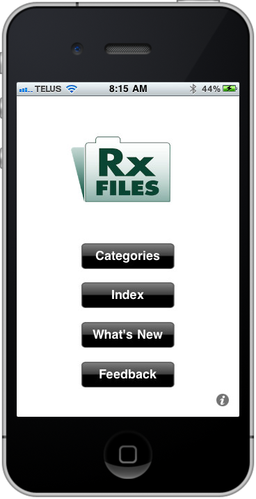 Saskatoon Based RXFiles App