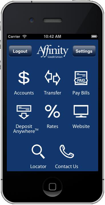 Saskatoon based Affinity Credit Union App