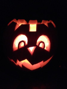 Here is the pumpkin I carved by getting inspiration from this app