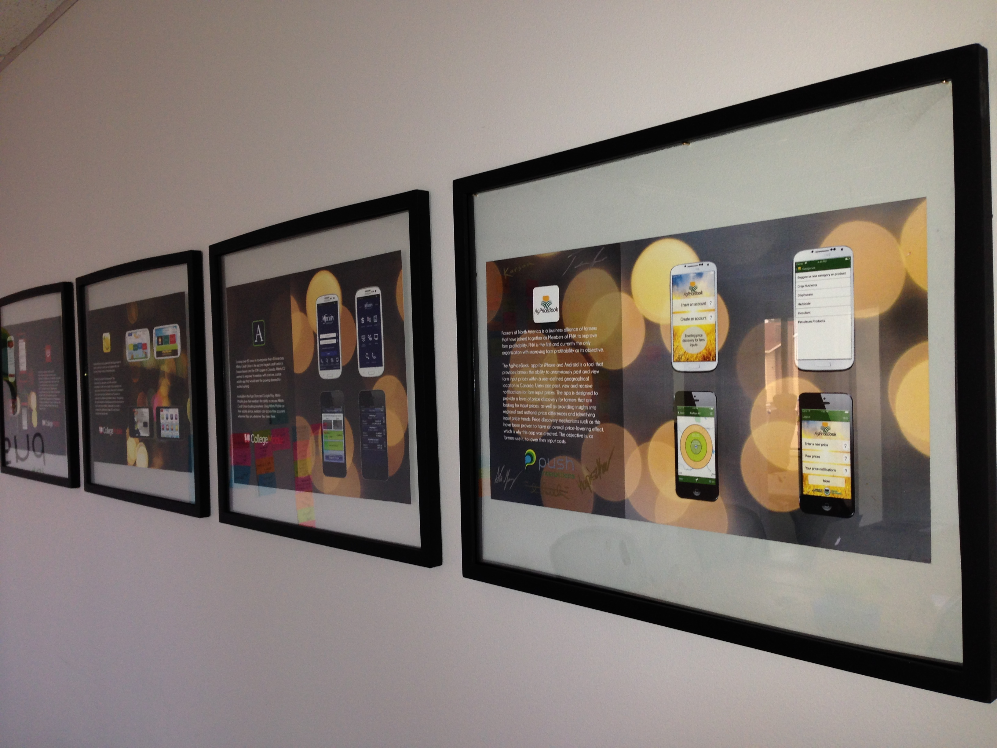 """Our """"Wall of Fame"""" - Apps that we developed"""
