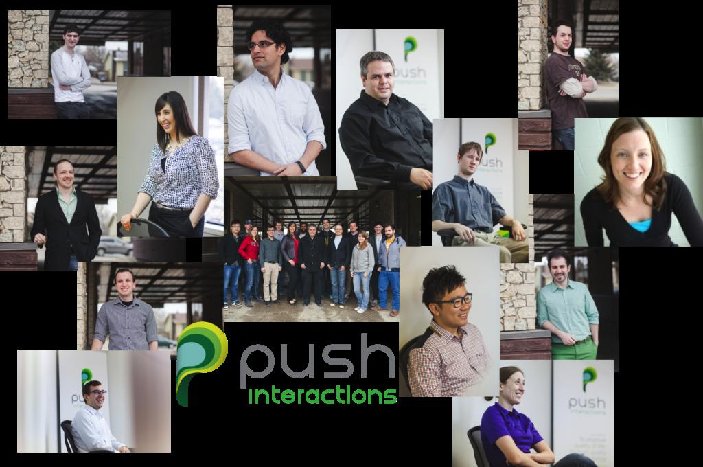 Push team collage