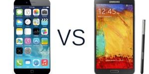 iPhone 6 plus vs Galaxy Note 4