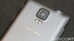 Samsung Galaxy Note 4 back camera