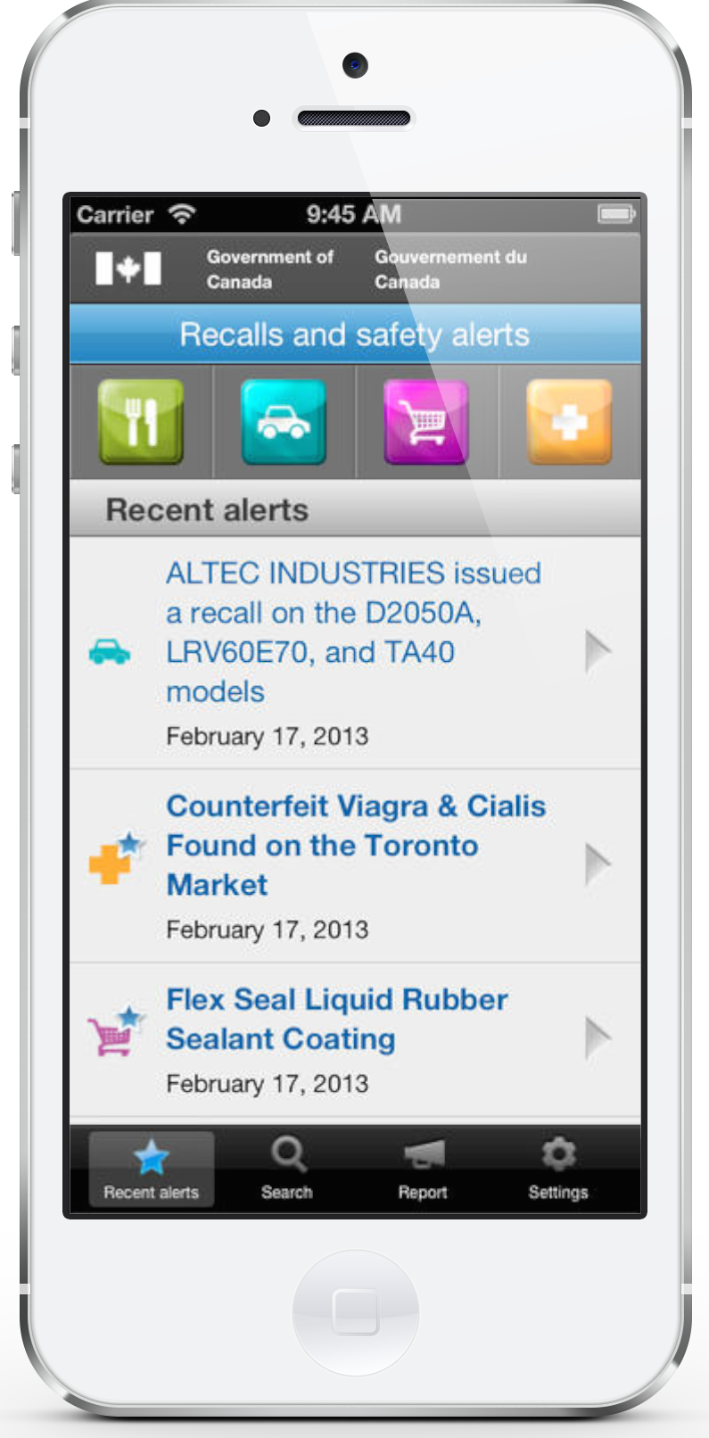 Recalls and Safety Alerts