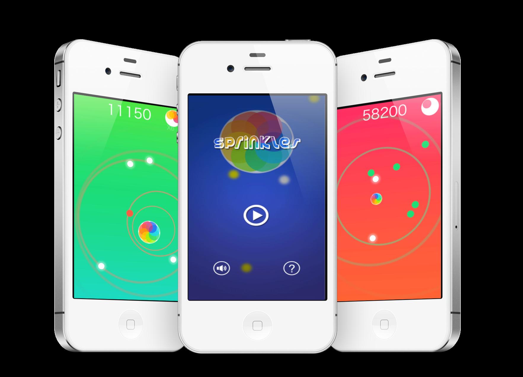 Sprinkles app screenshots