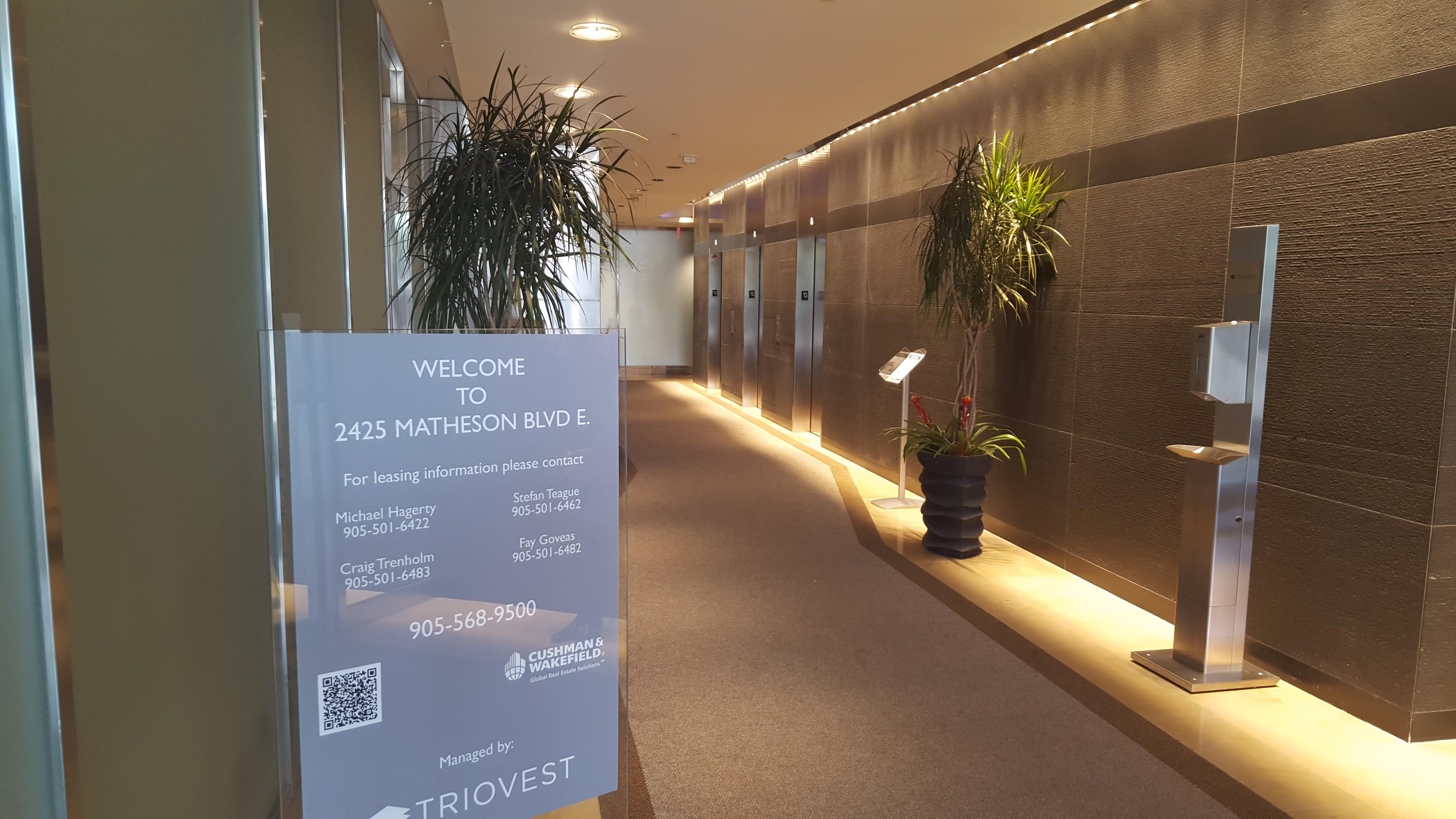 Toronto Office Elevator
